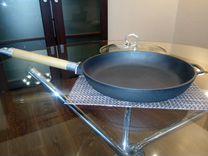 Продам новую чугунную сковороду 26 см
