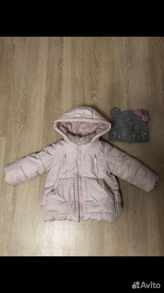 Куртка zara 92размер + шапка  89176798211 купить 1