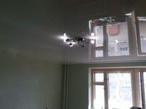 Натяжные потолки для комнаты 15,5 м.кв