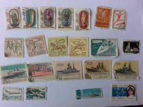 Марки СССР музей ист,спартак,корабли,самолеты,Куба