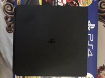 Sony PS4+3 игры+джойстик