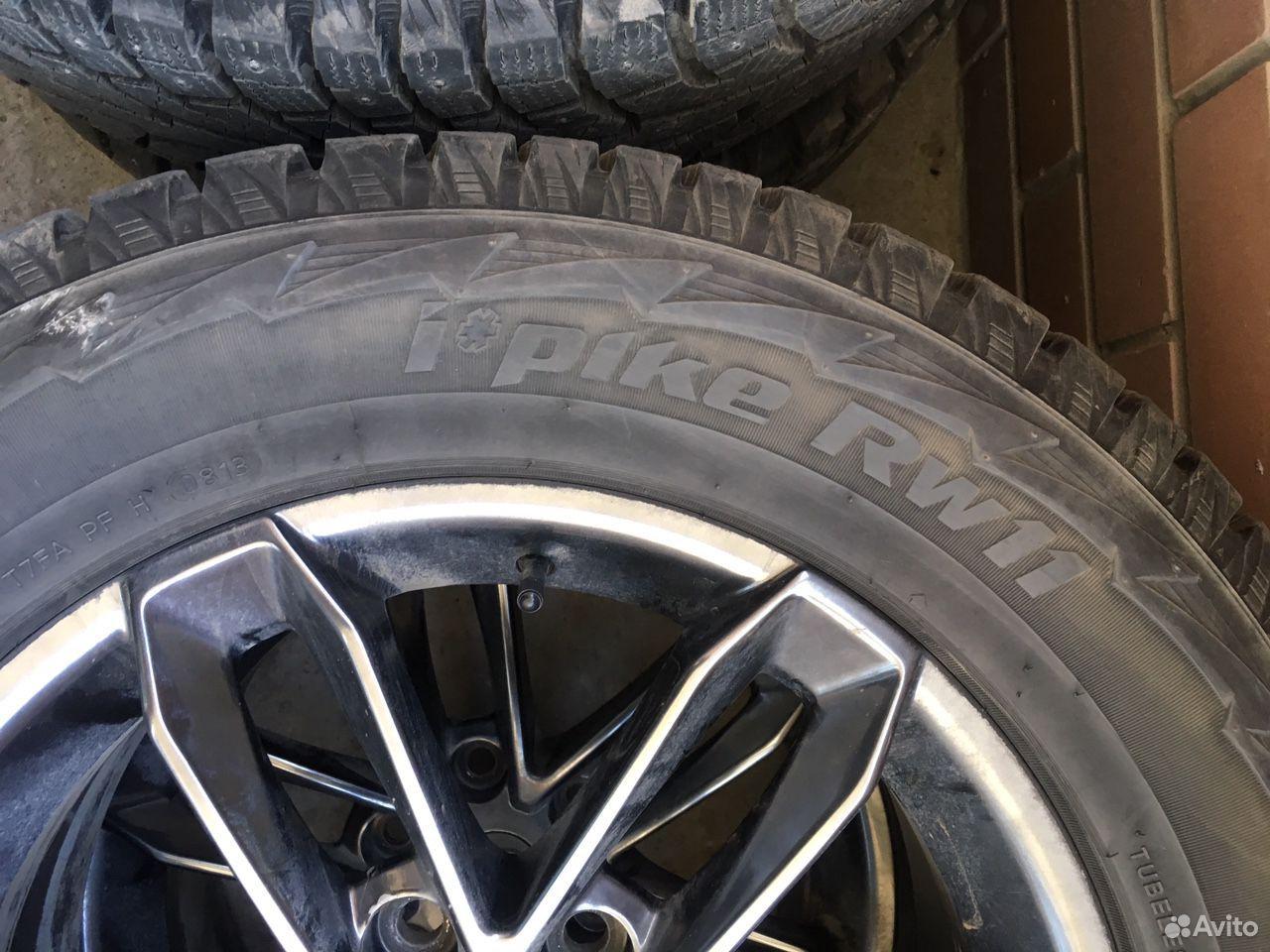 Комплект колес на Прадо