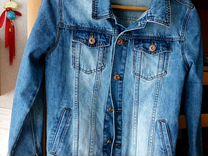 Джинсы,и джинсовая куртка,46 р