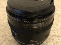 Объектив Canon EF 24 mm f/2.8