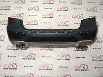 Задний бампер в сборе Mercedes ML 63 AMG w166