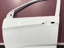 Дверь передняя левая Hyundai Solaris Белый 2011-20