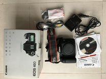 Продаю Canon D40 бу в отличном состоянии