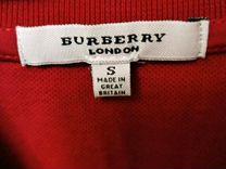Поло Burberry