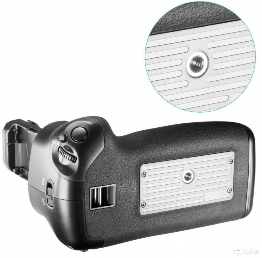 Батарейный Блок Ручка BG-E20 на Canon 5D Mark IV