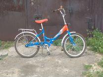 Детский велосипед со складной рамой
