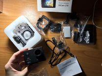 Экшн-камера(новая) digma DiCam 210 4K,WiFi,черный
