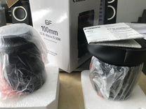 Новый объектив Canon EF 100mm f/2.8L Macro IS USM
