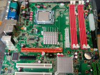 LGA 775 KWG43-D3 + Xeon E5440 2.83 GHz + DDR3 8Gb