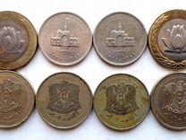 Сирия и Иран 8 монет
