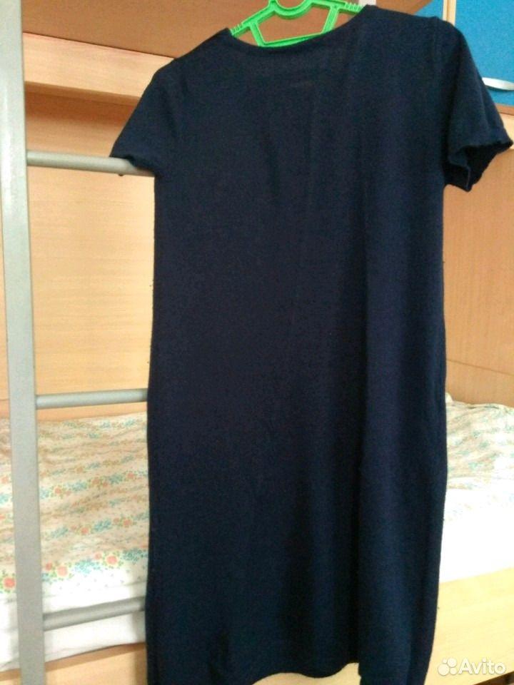 Кофта летучая мышь и платье Benetton