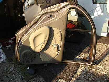Дверь задняя левая Nissan March K12 / Марч К12