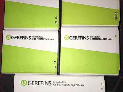 "Литий ионный аккумулятор,Gerffins"""