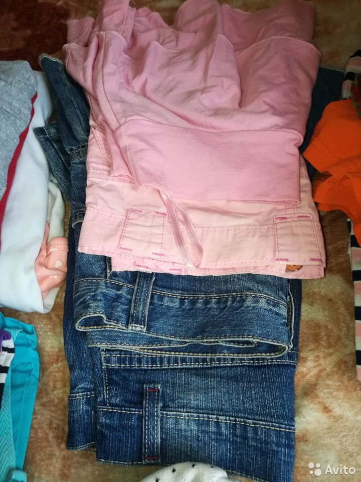 Пакет вещей на девочку 8-10 лет