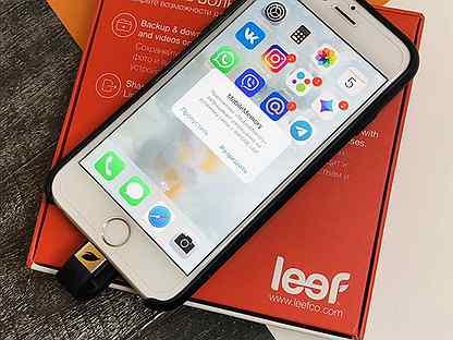 Флешка 16GB для iPhone / iPad / leef iBridge
