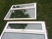 Пластиковые окна 4 штуки